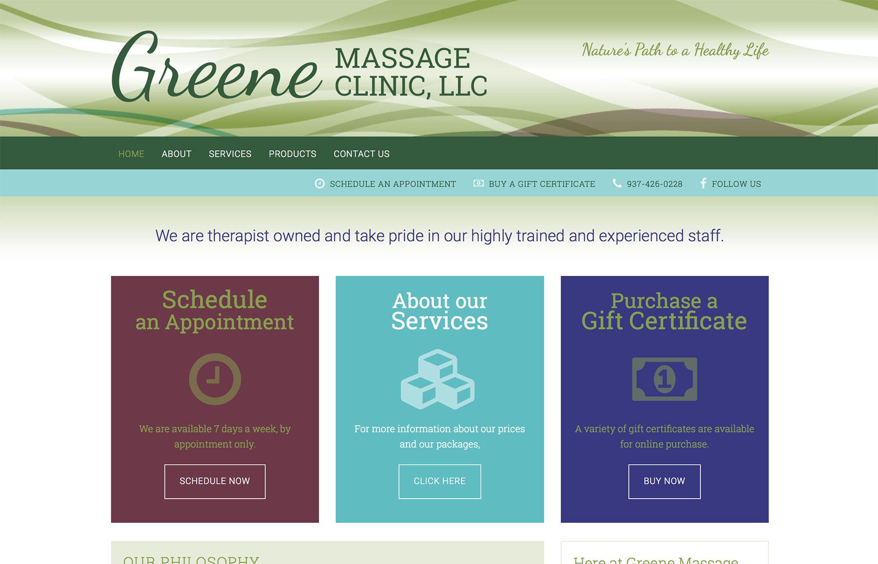 Greene-Massage-Clinic-Website