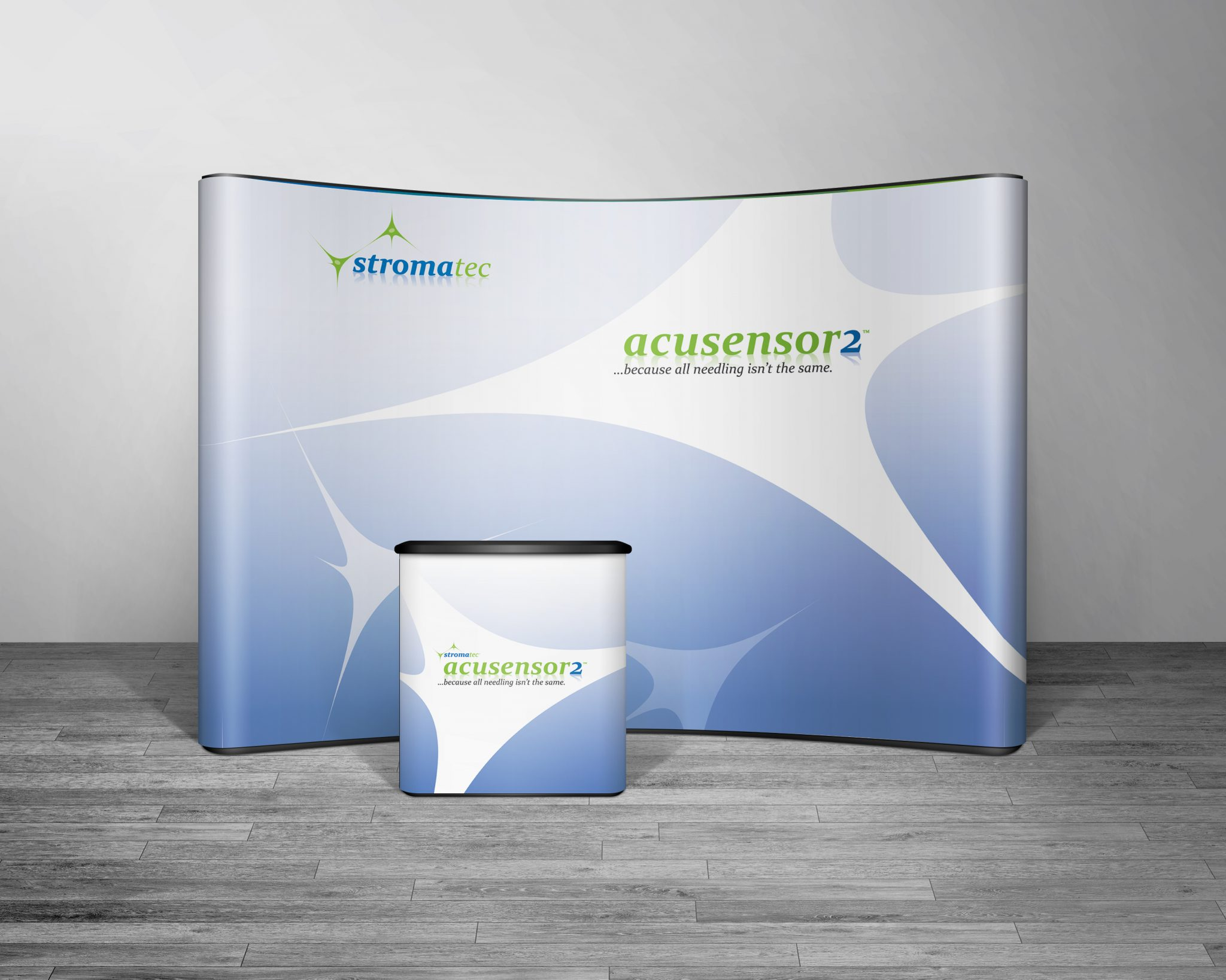 Stromatec 10ft booth