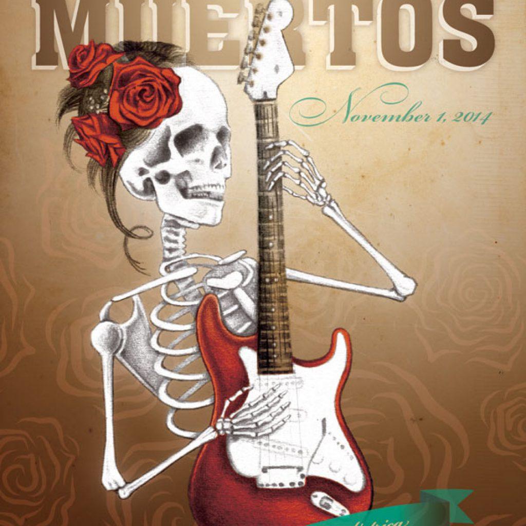 Dia de Los Muertos Party!
